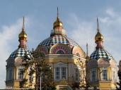 Almaty Christi-Himmelfahrt-Kathedrale