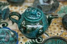 Keramik Workshop Master Alisher Nazirov in Rishtan
