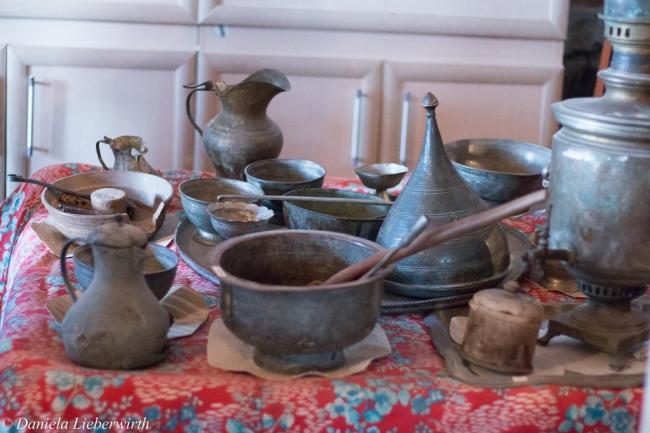 Kupferschmiedearbeiten aus Lahic