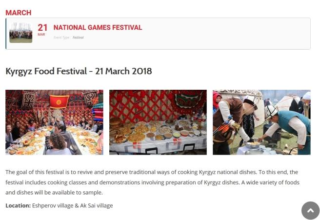 2018-03-21 Kyrgiz Food Festival