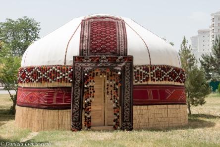 Turkmenische Jurte