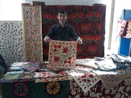 Dilshod Abdulkhaev aus Samarkand