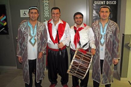"Dilmurod Mirzaev, Ravshan Husniddinov, Askin & Coskun Kardesler - ""Uzbekistan meets Anatolia"" - Foto Amir Siddique"