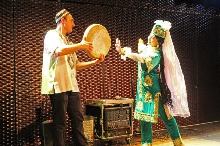 "Shirin Zhalilova und Ravshan Husniddinov - ""Uzbekistan meets Anatolia"" - Foto Amir Siddique"