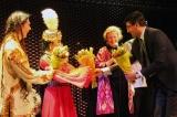 "Mr. Elyor Nishonov - Usbekischer Konsul in Wien, Shirin Zhalilova und Katja Daniela Hillebrand, ""Uzbekistan meets Anatolia"" - Foto Amir Siddique"