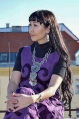 Filz-Seide-Kleidung aus Kirgistan-13.